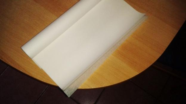 Butterbrotpapier.