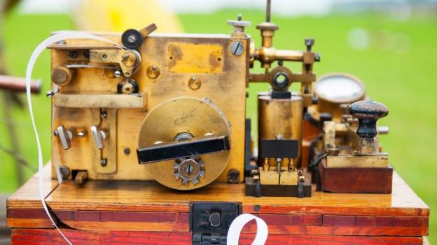 Alter Morse-Telegraph.