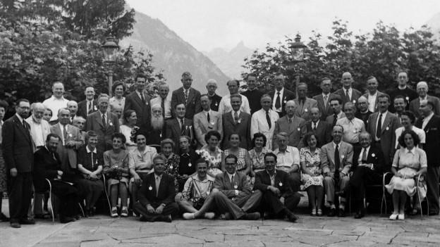 Gruppenfoto der Konferenzteilnehmenden