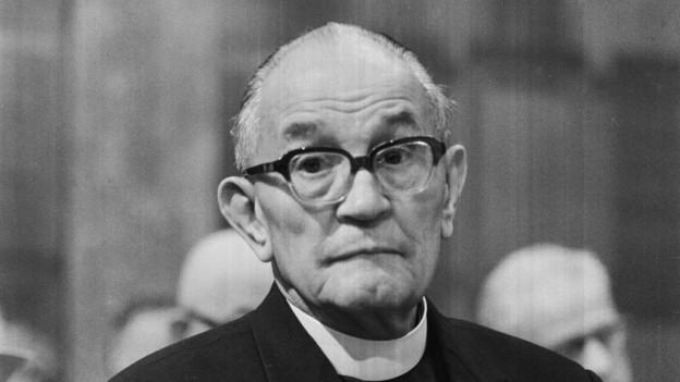 Schonungslose Selbstkritik: Der damalige Kirchenpräsident Martin Niemöller (1892-1984) hat die Stellungname mitverfasst