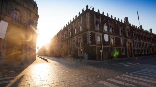 Altstadt von Mexiko Stadt im Kolonialstil