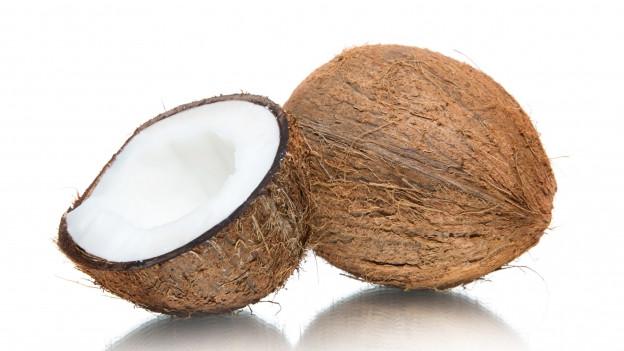 Zwei Kokosnüsse