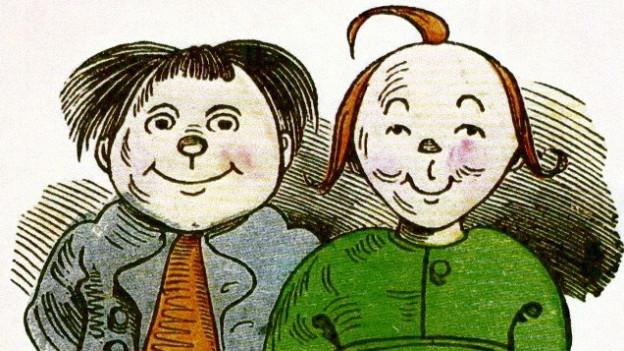 Illustration von Max und Moritz