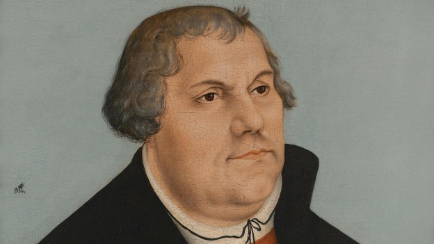 Gemälde von Martin Luther