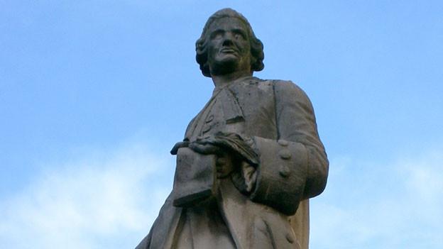 Skulptur von Jean-Philippe Rameau