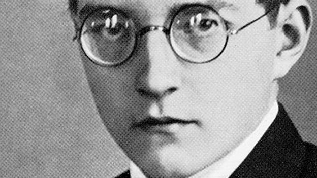 Porträt Schostakowitsch