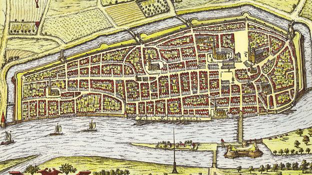 Alter Stadtplan Bremen