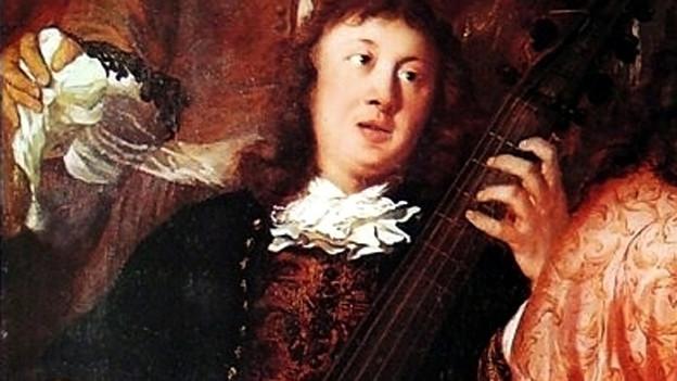 Dietrich Buxtehude in einem Bild von Johannes Voorhout.