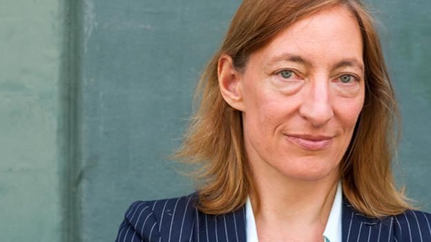Die Schriftstellerin Ruth Schweikert, portraitiert am 12. Mai 2015 in Zürich.