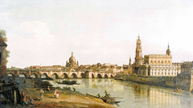 Malerei des barocken Dresden