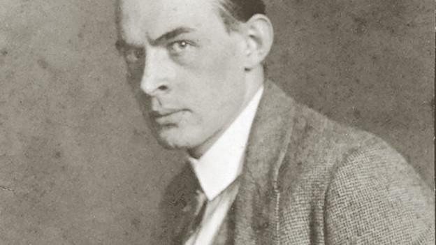 Ein schwarz-weiss Porträt des Autors.