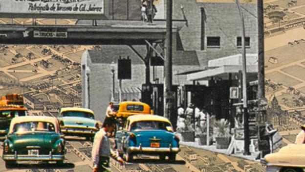 Ausschnitt aus dem Buchcover von «Last Exit to El Paso».