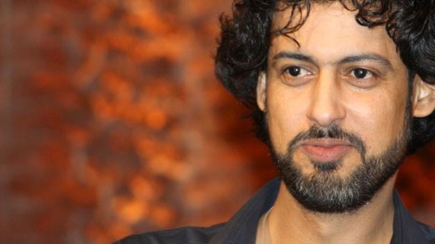 Der Autor Abbas Khider.
