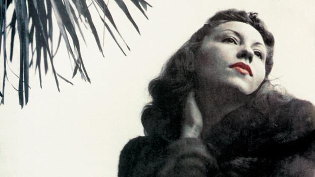 Die Autorin als Dame: Clarice Lispector aus Brasilien.