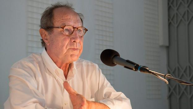 Dichter und Verleger Michael Krüger.