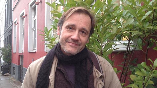 Der Autor Eberhard Rathgeb hat den aspekte-Literaturpreis 2013 gewonnen.