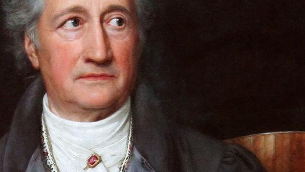 Goethe, Ölgemälde von Joseph Karl Stieler, 1828.