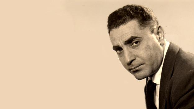 Porträt von Alfred Hayes.
