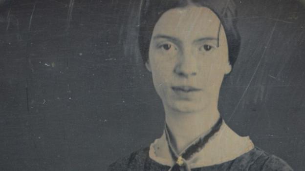 Ein Portrait von Emily Dickinson.