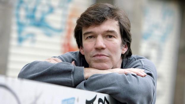 Porträt des Schriftstellers Michael Wildenhain.