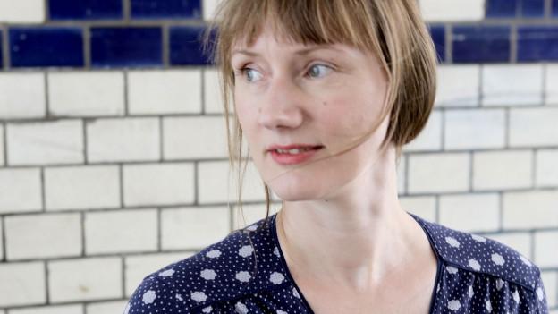 Autorenporträt Kristine Bilkau.