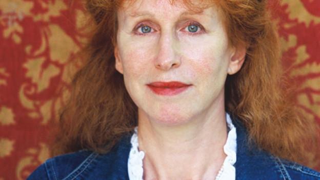 Porträt der Schriftstellerin Margriet de Moor