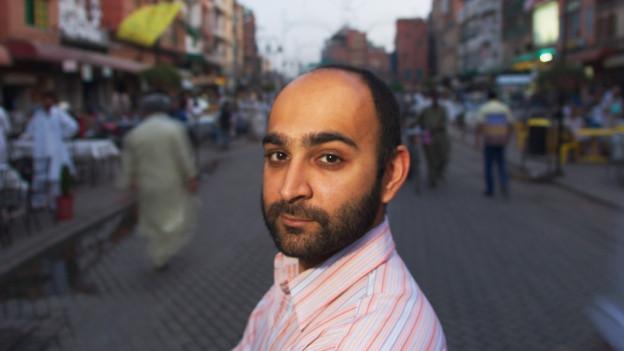 Portrait von Mohsin Hamid