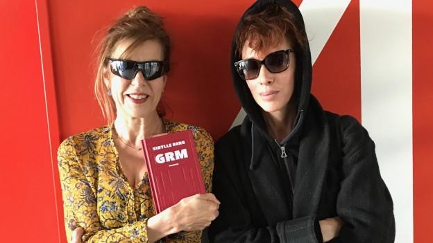 Sibylle Berg zu Gast bei Esther Schneider in 52 Beste Bücher