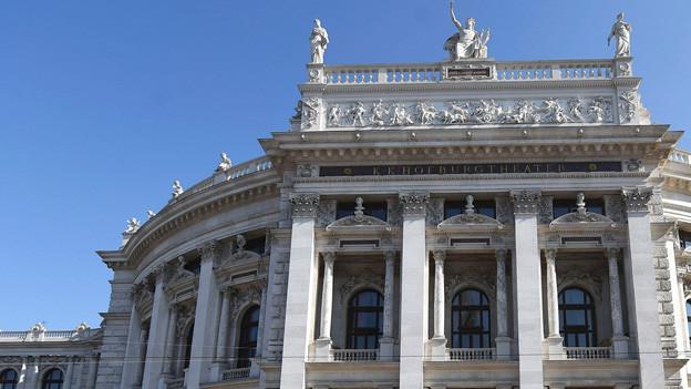 Fassade des Burgtheaters.