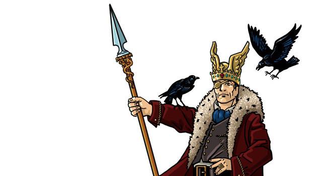 Der gierige Göttervater Wotan - will alles.