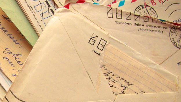 Eine aussergewöhnliche Brieffreundschaft zwischen Mutter und Sohn.