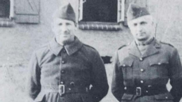 Ausschnitt aus dem Cover: Braudel in Kriegsgefangenschaft.
