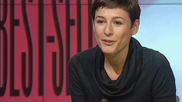 Die Schriftstellerin Isabelle Flükinger.