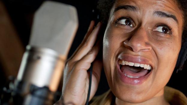 Die Zürcher Sängerin Joy Frempong.