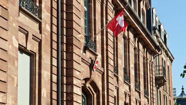 Schweizer Generalkonsulat in Strassburg.