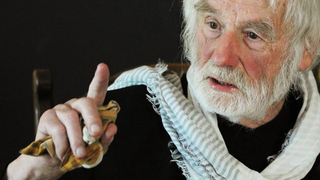 Der Obdachlosenpfarrer Ernst Sieber aus Zürich.