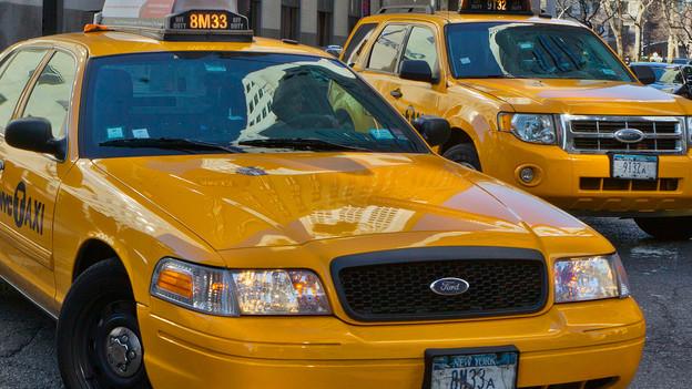 Zwei Taxen in New York City - Geschichten auf dem Weg.