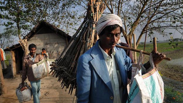 Viele Adivasi verdienen heute Geld als Rattenfänger.