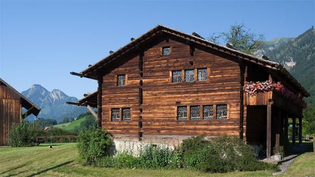 Das Wohnhaus des Bruder Klaus in Flüeli-Ranft, Obwalden.