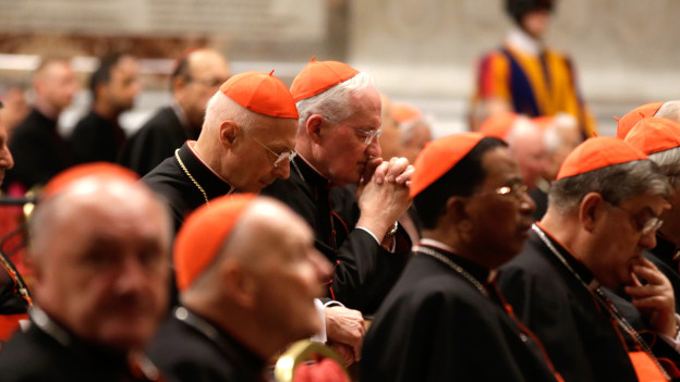 Auch Kardinälinnen sollen im Wahlgremium für die Papstwahl dabeisein, wird gefordert.