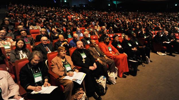 Die Vollversammlung des ökumenischen Rats der Kirchen in Busan