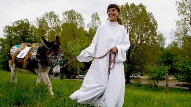 Wanderpfarrerin Hetty Overeem