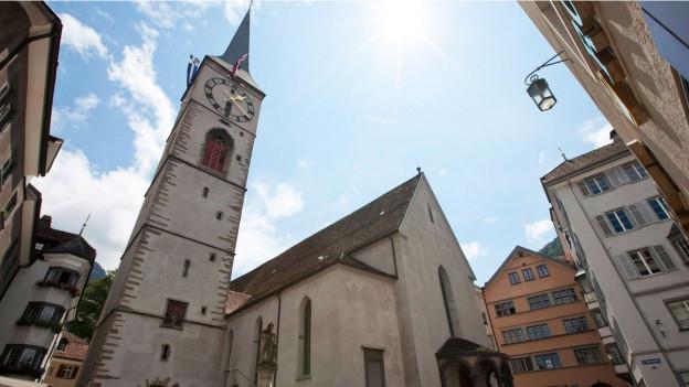Die reformierte Martinskirche in Chur