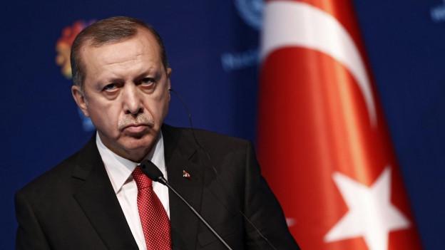 Ein Bild von Erdogan.