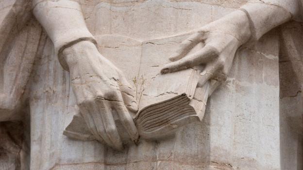 Abbild von dem Reformationsdenkmal in Genf