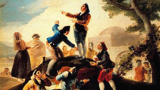 Bild von F. Goya.