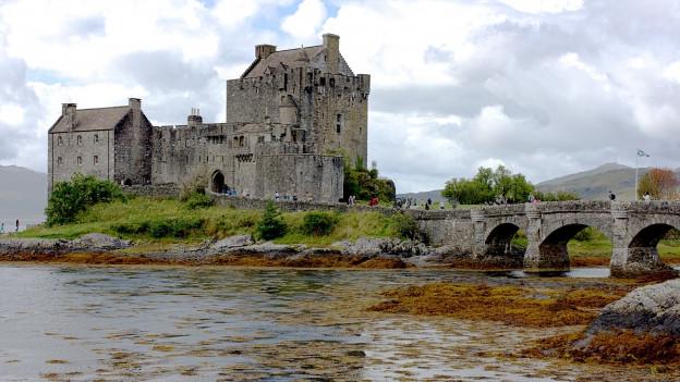 Ruine in Schottland
