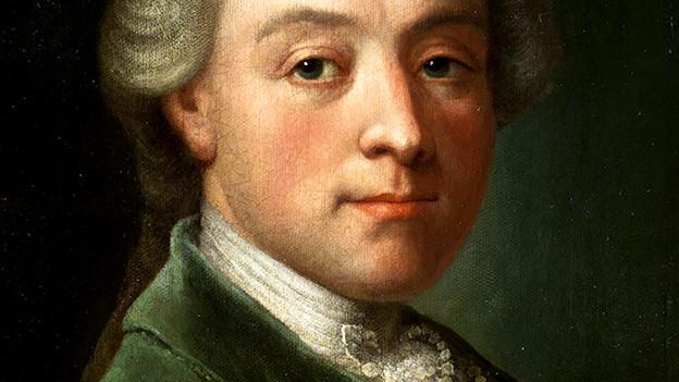 Porträt Wolfgang Amadeus Mozart, 18. Jahrhundert.