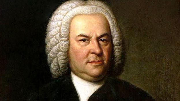 Johann Sebastian Bach im Porträt.