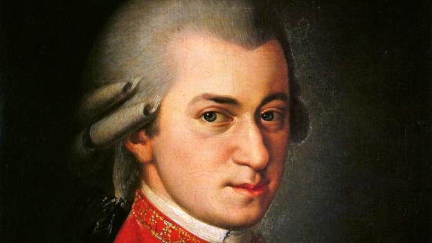 Wolfgang Amadeus Mozart komponierte mehrere Hornkonzerte für seinen Freund, den Hornisten Hornisten Joseph Leutgeb.